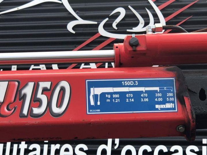 Chassis + carrosserie Citroen Plateau + grue L3 BLANC - 8