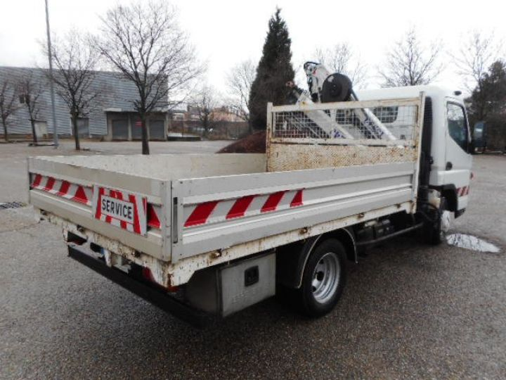 Chassis + carrosserie Mitsubishi Canter Plateau + grue 3C13  Occasion - 2