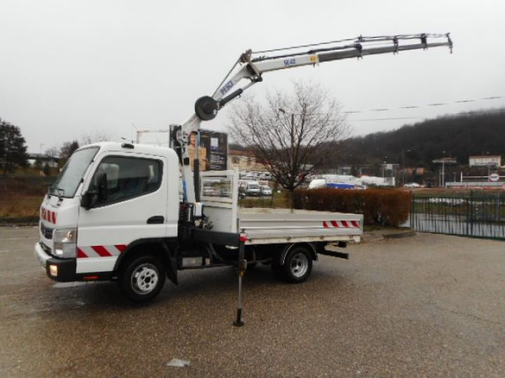 Chassis + carrosserie Mitsubishi Canter Plateau + grue 3C13  Occasion - 6