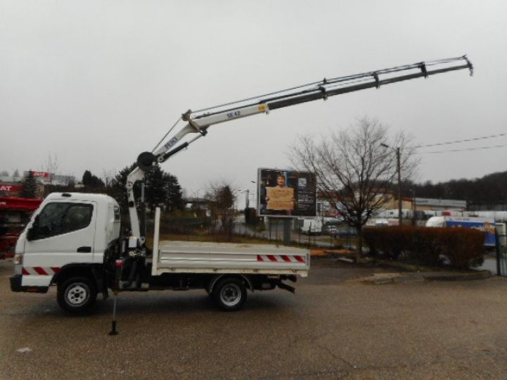Chassis + carrosserie Mitsubishi Canter Plateau + grue 3C13  Occasion - 7