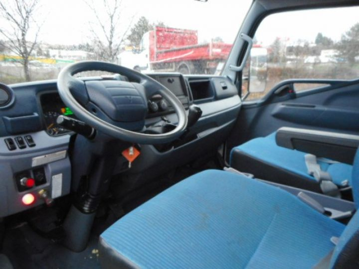 Chassis + carrosserie Mitsubishi Canter Plateau + grue 3C13  Occasion - 8