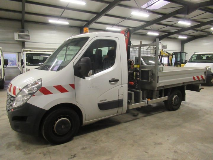 Chassis + carrosserie Renault Master Plateau + grue DCI 125 PLATEAU + GRUE  - 1