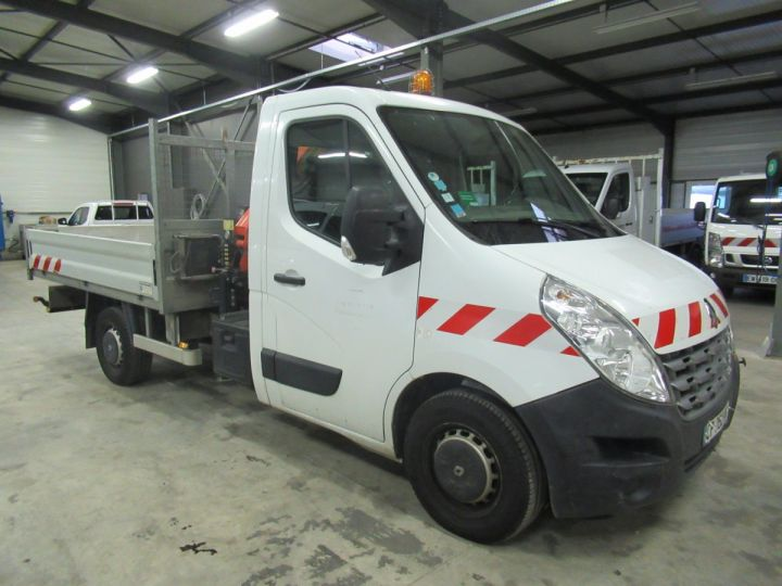 Chassis + carrosserie Renault Master Plateau + grue DCI 125 PLATEAU + GRUE  - 2