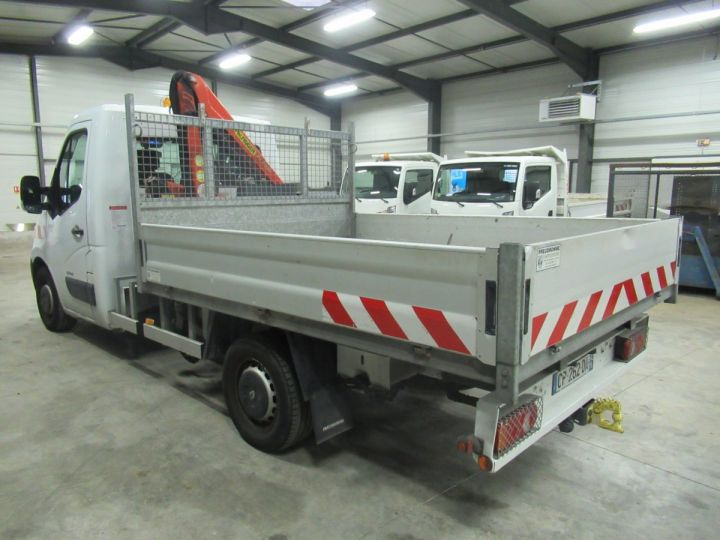 Chassis + carrosserie Renault Master Plateau + grue DCI 125 PLATEAU + GRUE  - 4