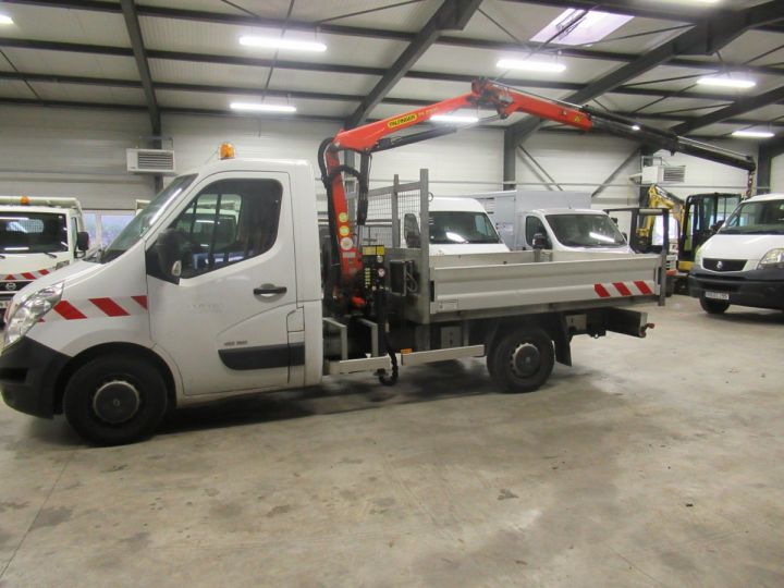 Chassis + carrosserie Renault Master Plateau + grue DCI 125 PLATEAU + GRUE  - 6