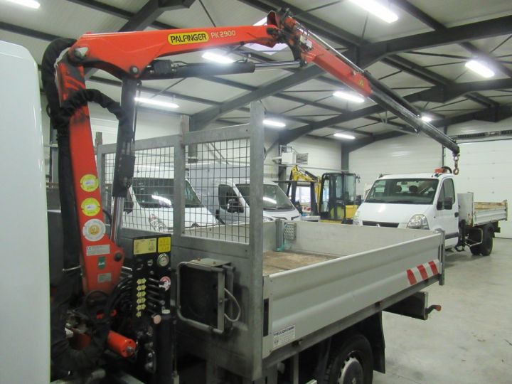 Chassis + carrosserie Renault Master Plateau + grue DCI 125 PLATEAU + GRUE  - 7