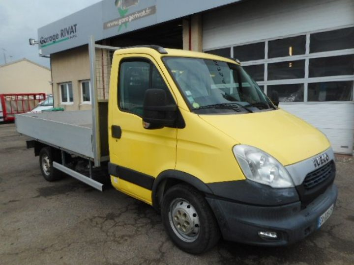 Chassis + carrosserie Iveco Daily Plateau 35S13 PLATEAU 3.50M  - 1