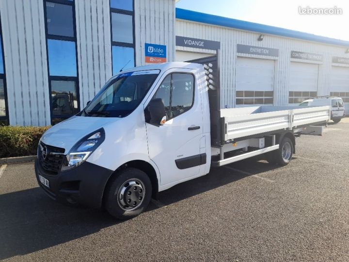 Chassis + carrosserie Opel Movano Plateau RJ3500 L4 2.3 CDTI 165CHBITURBO START&STOP BLANC - 1