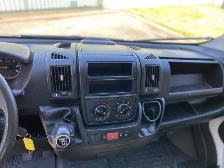 Chassis + carrosserie Peugeot Boxer Plateau 130 HAYON ELEVATEUR DOUBLE CABINE 7 PLACES BLANC - 10