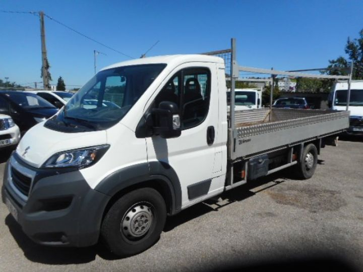 Chassis + carrosserie Peugeot Boxer Plateau 3.0 HDI 165 PLATEAU 4.5METRES  - 1