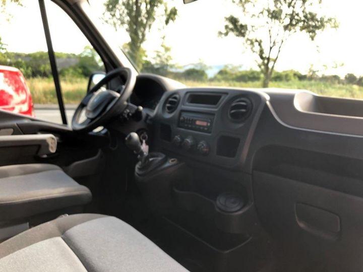 Chassis + carrosserie Renault Master Plateau 125 DOUBLE CABINE PLATEAU  AVEC POTENCE BLANC - 11