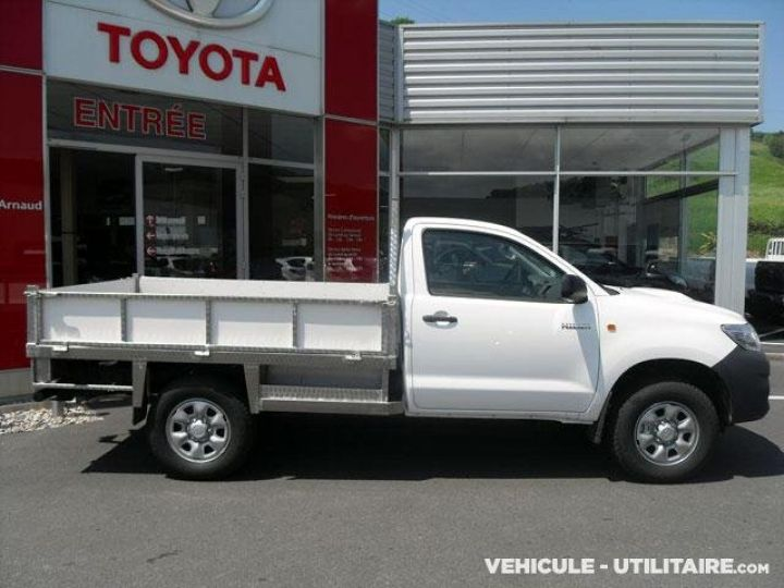 Chassis + carrosserie Toyota Hilux Plateau D-4D 144 Pick Up  - 1