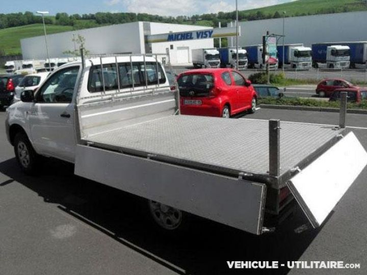 Chassis + carrosserie Toyota Hilux Plateau D-4D 144 Pick Up  - 3