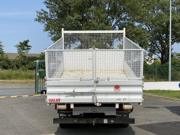 Chassis + carrosserie Mercedes Sprinter Polybenne 516 POLYBENNE BLANC - 6