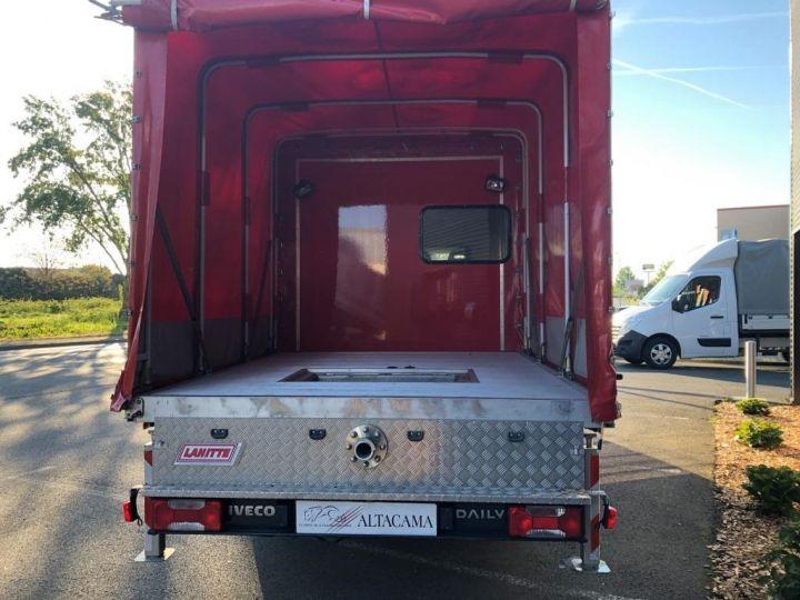 Chassis + carrosserie Iveco Daily Rideaux coulissants BUREAU EXPO EVENEMENTIEL ROUGE - 5