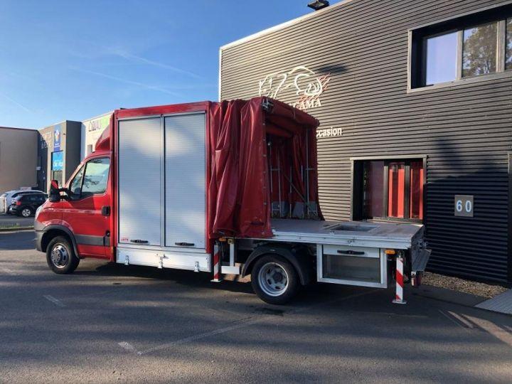 Chassis + carrosserie Iveco Daily Rideaux coulissants BUREAU EXPO EVENEMENTIEL ROUGE - 10