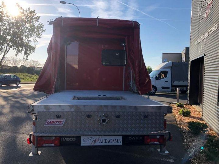 Chassis + carrosserie Iveco Daily Rideaux coulissants BUREAU EXPO EVENEMENTIEL ROUGE - 11