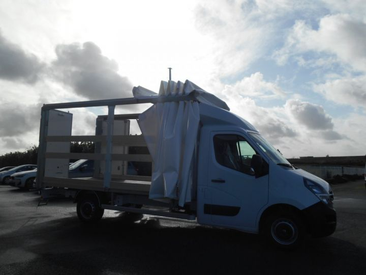 Chassis + carrosserie Opel Movano Rideaux coulissants F3500 L3 2.3 CDTi 145 Tautliner Blanc - 4