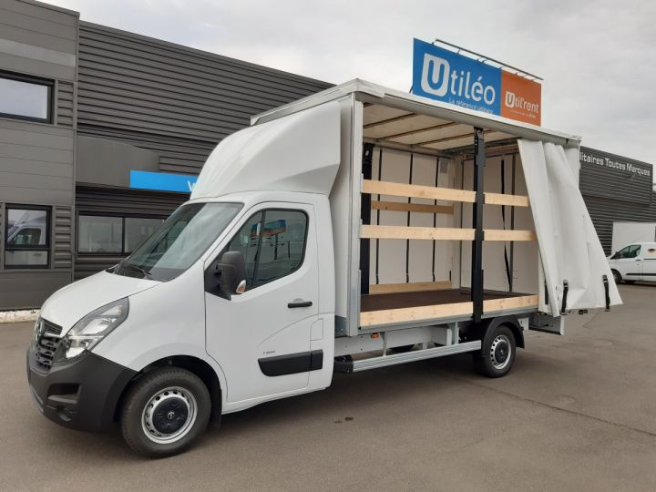 Chassis + carrosserie Opel Movano Rideaux coulissants F3500 L3 2.3 CDTI 145CH BITURBO START&STOP BLANC - 1