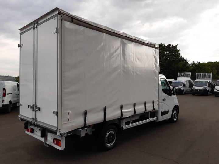 Chassis + carrosserie Opel Movano Rideaux coulissants F3500 L3 2.3 CDTI 145CH BITURBO START&STOP BLANC - 4