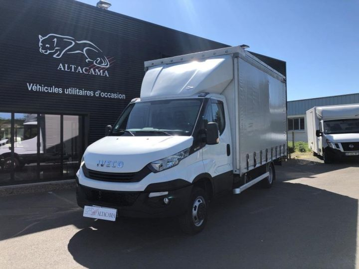 Chassis + carrosserie Iveco Daily Savoyarde PLSC BLANC - 1
