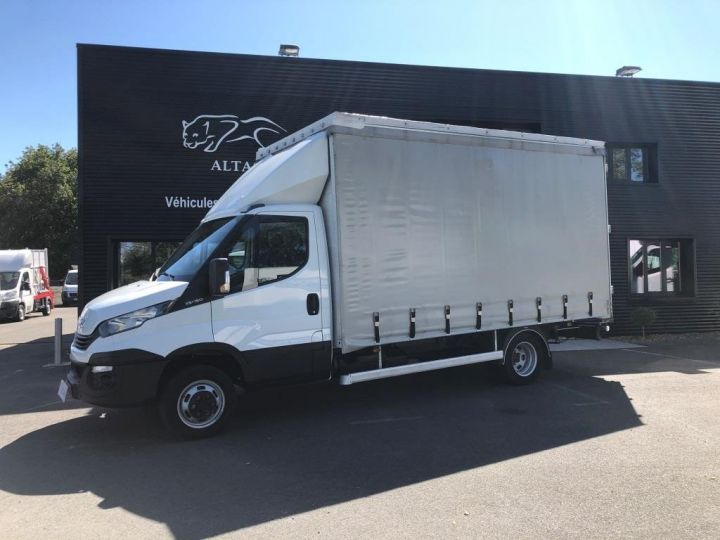 Chassis + carrosserie Iveco Daily Savoyarde PLSC BLANC - 2