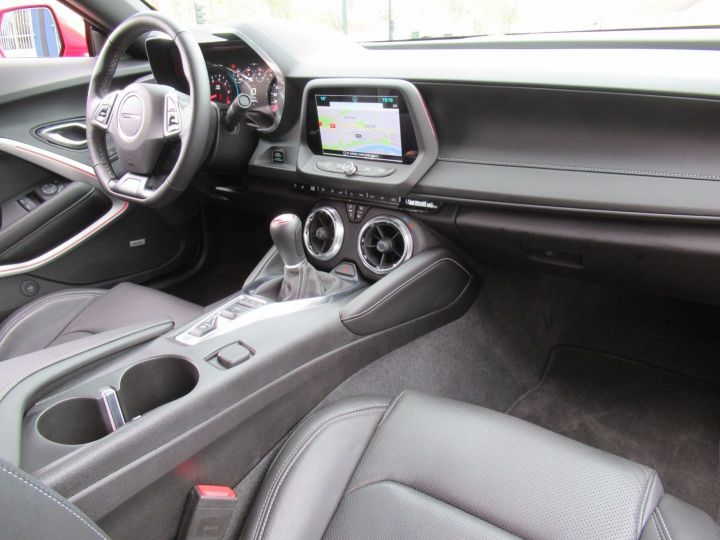 Chevrolet Camaro 6.2 V8 453CH Rouge - 9