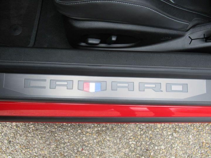 Chevrolet Camaro 6.2 V8 453CH Rouge - 12