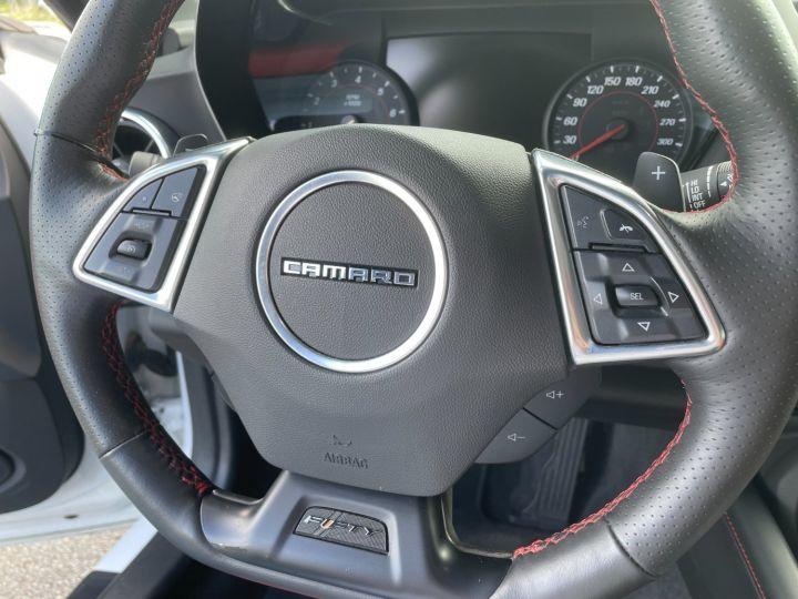 Chevrolet Camaro Camaro 6 V8 6.2L SS Blanc - 15