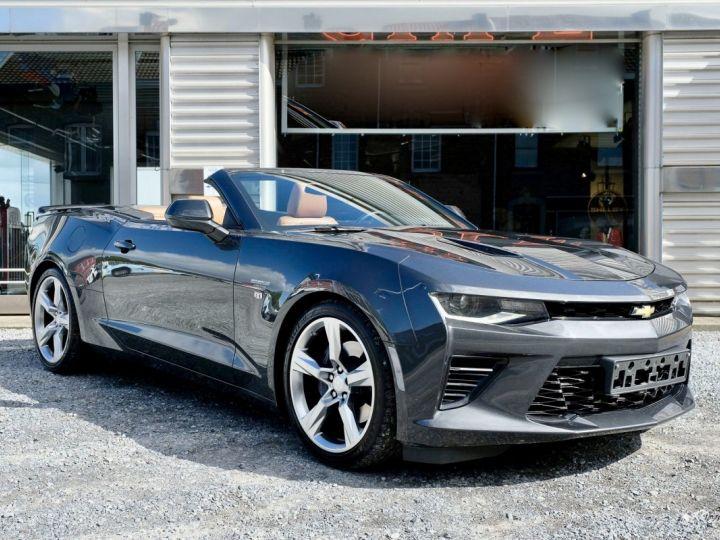Chevrolet Camaro CHEVROLET CAMARO Convertible V8 6,2 L 2018 (Véhicule Europe) GRIS Vendu - 1