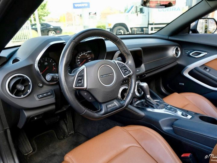 Chevrolet Camaro CHEVROLET CAMARO Convertible V8 6,2 L 2018 (Véhicule Europe) GRIS Occasion - 7