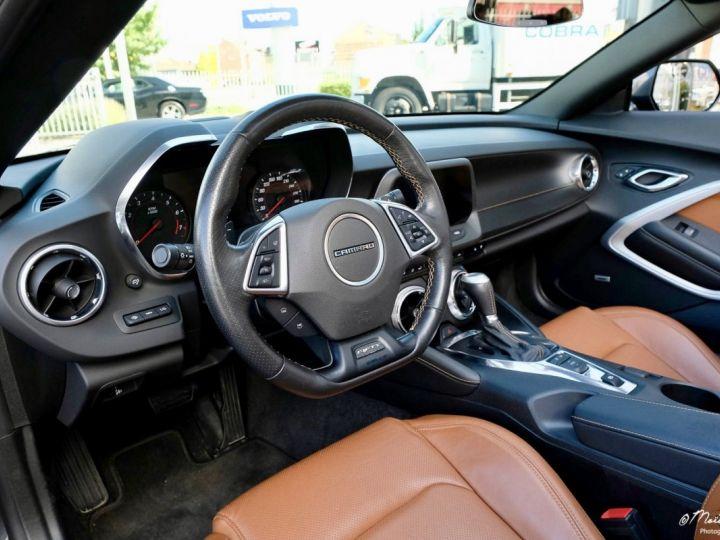 Chevrolet Camaro CHEVROLET CAMARO Convertible V8 6,2 L 2018 (Véhicule Europe) GRIS Vendu - 7