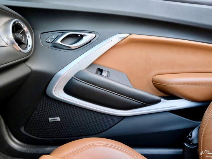 Chevrolet Camaro CHEVROLET CAMARO Convertible V8 6,2 L 2018 (Véhicule Europe) GRIS Occasion - 11