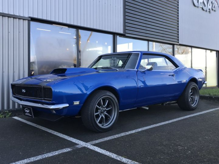 Chevrolet Camaro RS SS Bleu Metal - 1