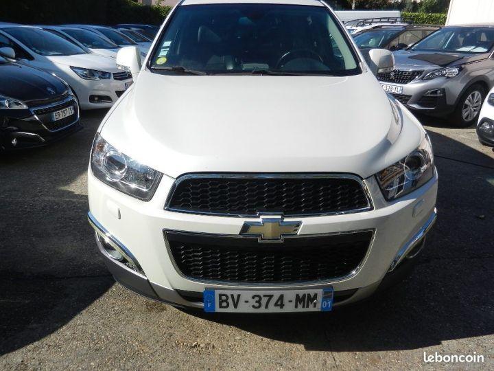 Chevrolet Captiva 2.2 16V.VCDI 4X4 finition LTZ Blanc - 1