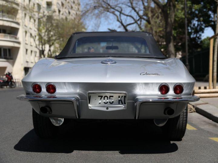 Chevrolet Corvette C2 CHEVROLET CORVETTE C2 STINGRAY CABRIOLET 6.9 427CI RESTAUREE A VOIR !! Gris Metal - 6