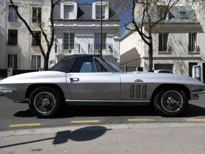 Chevrolet Corvette C2 CHEVROLET CORVETTE C2 STINGRAY CABRIOLET 6.9 427CI RESTAUREE A VOIR !! Gris Metal - 8