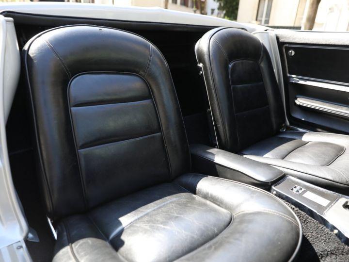 Chevrolet Corvette C2 CHEVROLET CORVETTE C2 STINGRAY CABRIOLET 6.9 427CI RESTAUREE A VOIR !! Gris Metal - 12