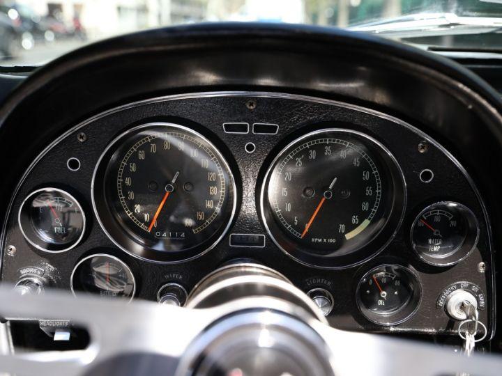 Chevrolet Corvette C2 CHEVROLET CORVETTE C2 STINGRAY CABRIOLET 6.9 427CI RESTAUREE A VOIR !! Gris Metal - 25