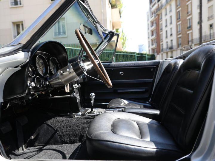Chevrolet Corvette C2 CHEVROLET CORVETTE C2 STINGRAY CABRIOLET 6.9 427CI RESTAUREE A VOIR !! Gris Metal - 27