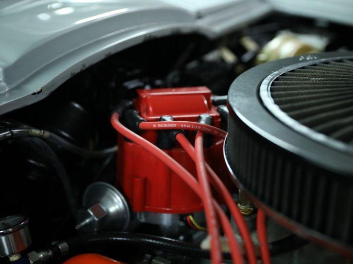 Chevrolet Corvette C2 CHEVROLET CORVETTE C2 STINGRAY CABRIOLET 6.9 427CI RESTAUREE A VOIR !! Gris Metal - 32