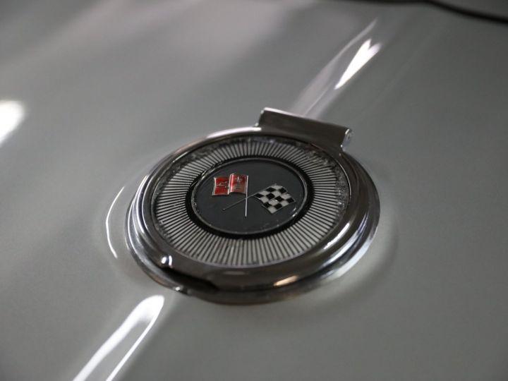 Chevrolet Corvette C2 CHEVROLET CORVETTE C2 STINGRAY CABRIOLET 6.9 427CI RESTAUREE A VOIR !! Gris Metal - 39