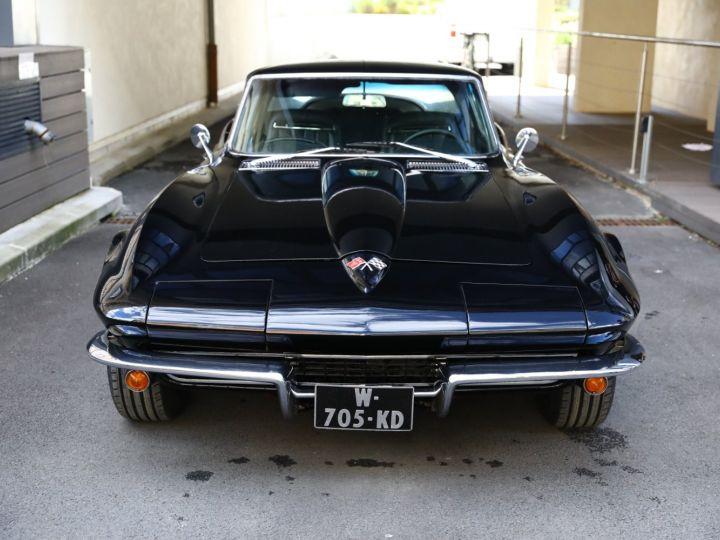Chevrolet Corvette C2 CHEVROLET CORVETTE C2 STINGRAY COUPE 1965 350CI BOITE 4 Noir - 2