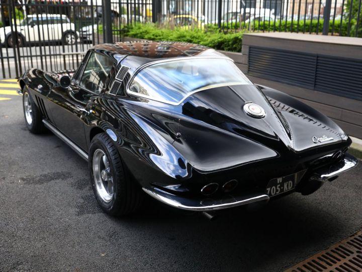 Chevrolet Corvette C2 CHEVROLET CORVETTE C2 STINGRAY COUPE 1965 350CI BOITE 4 Noir - 5