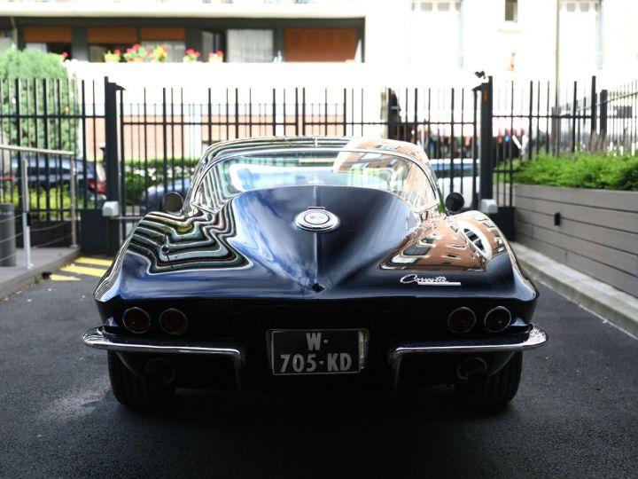 Chevrolet Corvette C2 CHEVROLET CORVETTE C2 STINGRAY COUPE 1965 350CI BOITE 4 Noir - 9