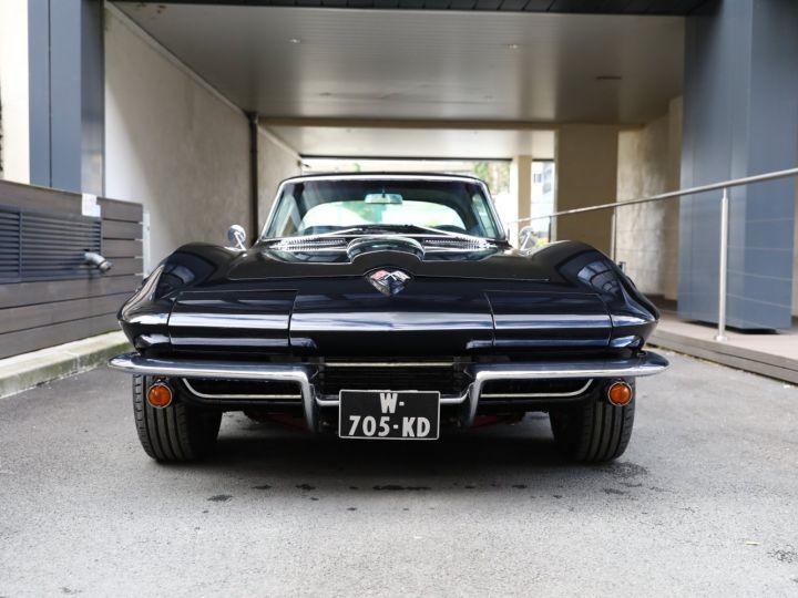 Chevrolet Corvette C2 CHEVROLET CORVETTE C2 STINGRAY COUPE 1965 350CI BOITE 4 Noir - 13