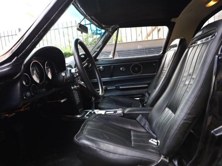 Chevrolet Corvette C2 CHEVROLET CORVETTE C2 STINGRAY COUPE 1965 350CI BOITE 4 Noir - 33