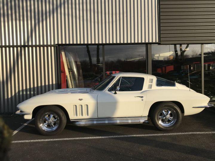 Chevrolet Corvette c2 stingray blanc - 2