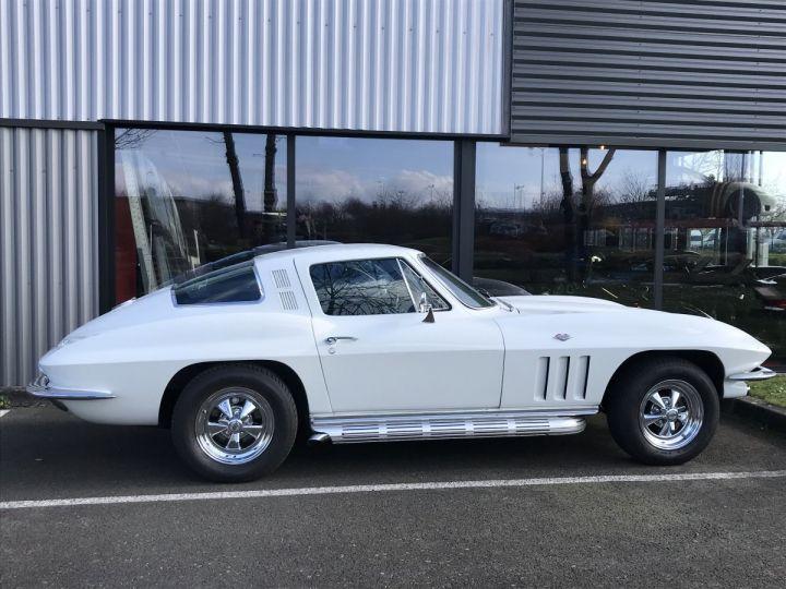 Chevrolet Corvette c2 stingray blanc - 3
