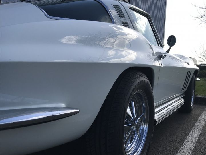 Chevrolet Corvette c2 stingray blanc - 8